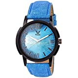 Fogg Analog Blue Dial Men's Watch 1079-BL