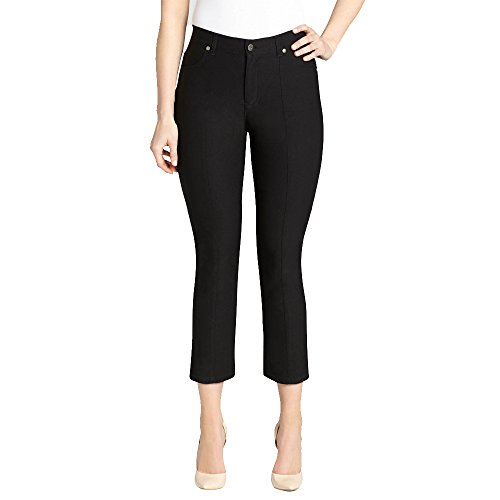 f2d0a93544454 URREBEL Women s Simon Chang Microtwill Slim Leg Capris (Style no  5987) new