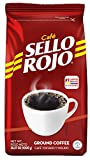 22LB Sello Rojo Coffee Traditional | Smooth and Flavorful Low Acidity Coffee with no Bitter Aftertaste or Heartburn | Medium Roast Ground Colombian Coffee | Cafe de Colombia