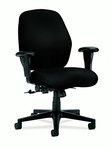 - HON HON7823NT10T Mid-Back Pneumatic Task Chair, 30-1/2