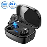 TECHVIDA Auriculares Bluetooth, 'TWS-X10' IPX7 Audífonos Inalámbricos Deportivos Prueba de...