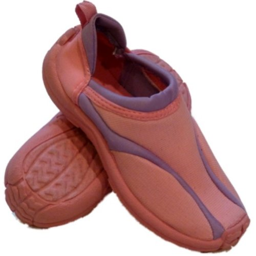 Surf Bay Girls Pink & Purple Aqua Socks Water & Beach Shoes