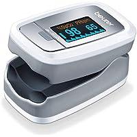 Beurer PO 30 - Pulsioxímetro de dedo para la medición de la saturación de oxigeno en la…