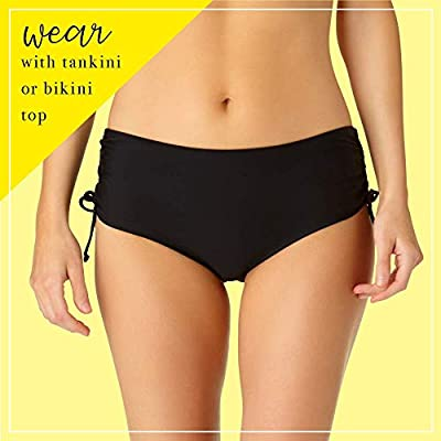 Catalina Bikini Bottoms with Side Ties, Adjustable Bathing Suit Bottoms, Swimsuits for Women: Clothing