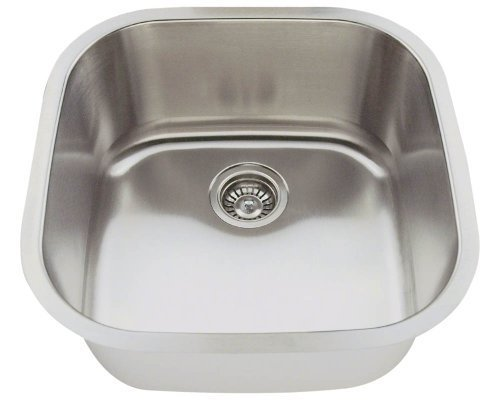Polaris Sinks P0202-16 Stainless Steel Bar Sink by Polaris Sinks by Polaris Sinks