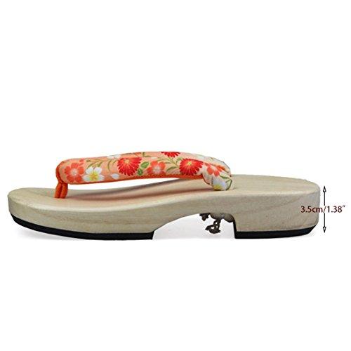 Jiyaru Womens Slippers Geta Clogs Sandalo Donna Scarpe Tradizionali Giapponesi # 1