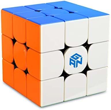 GAN 356 R, 3x3 Speed Cube Gans 356R Magic Cube(Stickerless)