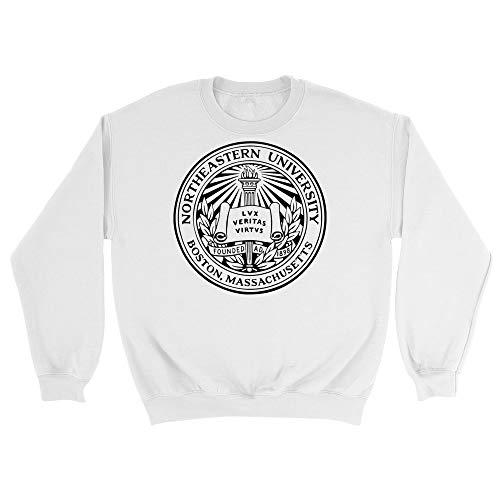Official NCAA Northeastern University Huskies - PPNEU08, G.A.18000, WHT, 2XL (Northeastern University Hat)