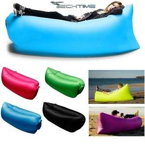Sofa cama hinchable playa Saco sofá Banana cama de aire colchón ...