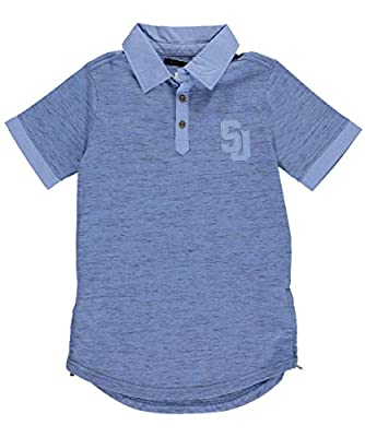 "Sean John Big Boys' ""SJ Polo"" Knit Polo"