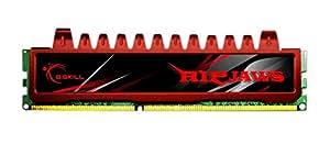 G.Skill F3-8500CL7S - Memoria RAM de 4 GB (DDR3, 1066 MHz, 240-pin), rojo