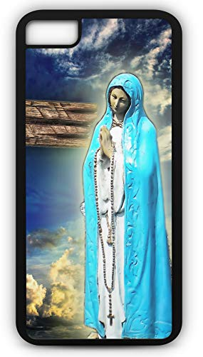 - iPhone 7 Case Maria Christianity Faith Jesus Church Customizable by TYD Designs in Black Plastic