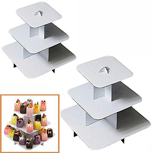 Adorox 2Pcs 3-Tier (12