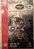 2005 Official NFL New York Jets Shaun Ellis Collectors Pin