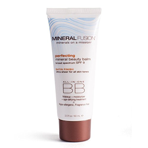 Mineral Fusion Beauty Balm SPF 9, Perfecting, 2 Ounce (Packaging May Vary)