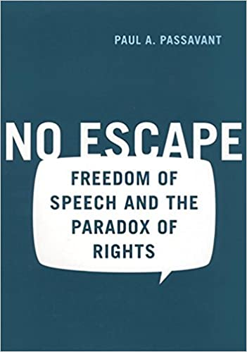 Book No Escape: Freedom of Speech and the Paradox of Rights