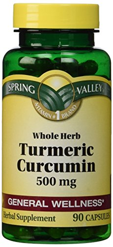 Spring Valley - Turmeric 500 mg, 90 Capsules
