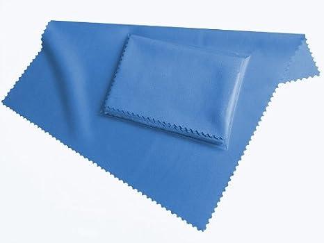 Vip Domotec Italia Articoli Pulizia.Hightech Display Microfibra Panno Di Pulizia Azzurro Lavabile 20cm X 19cm Microfibra Per Smartphone Lettori Di Ebook Tablet Pc Occhiali