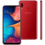 Smartphone Samsung Galaxy A20, 32Gb, 6.4'', Vermelho Sm-A205Gzrrzto