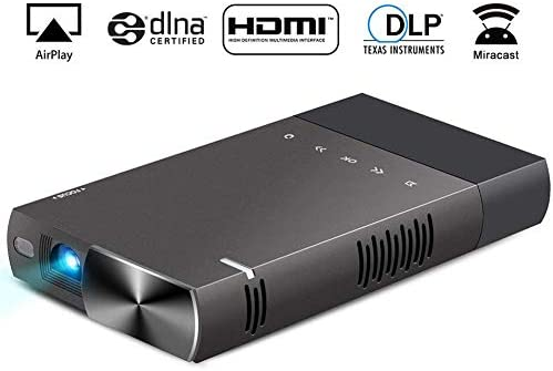 QLPP Mini proyector de Video LED Full HD Cine en casa con 0.3 Inch ...