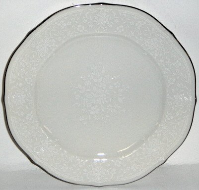 - Noritake Chandon Platinum Salad Plate