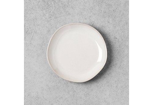 Stoneware White Bread Plate - Hearth & Hand with Magnolia by Magnolia