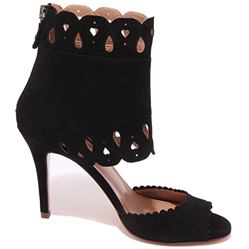 Twin-set Simona Barbieri 0983q Sandalo Scarpa Donna Sandal Woman Nero