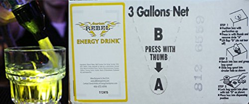 American Rebel Energy Drink 3 Gallon Bag in Box by Presto