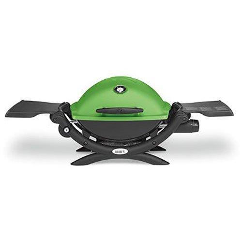 Weber 51070001 Q1200 Liquid Propane Grill, Green