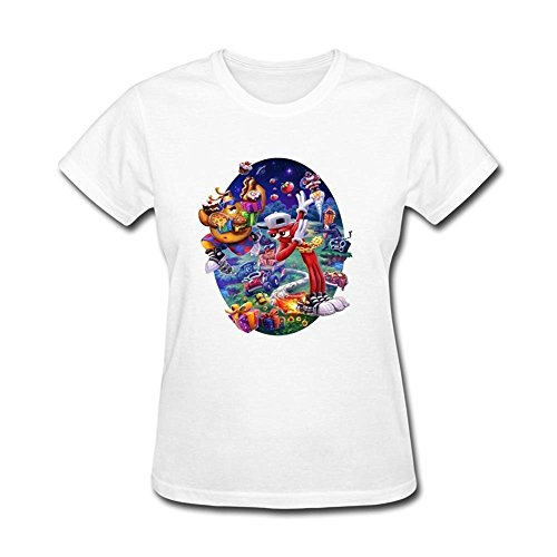 Tommery Womens Toejam And Earl Art Design Short Cotton T Shirt