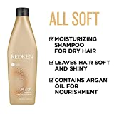 Redken All Soft Shampoo with Argan Oil For
