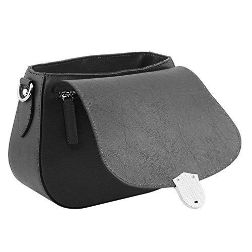 Tl141517 Mujer Al Piel Para Tuscany Bolso De Azul Hombro Leather Compact pq8WW5wFT