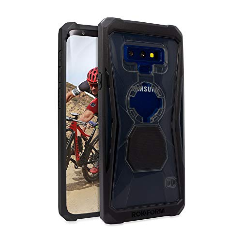 Rokform Rugged [Galaxy Note 9] Military Grade Magnetic Protective Phone Case with Twist Lock - Black