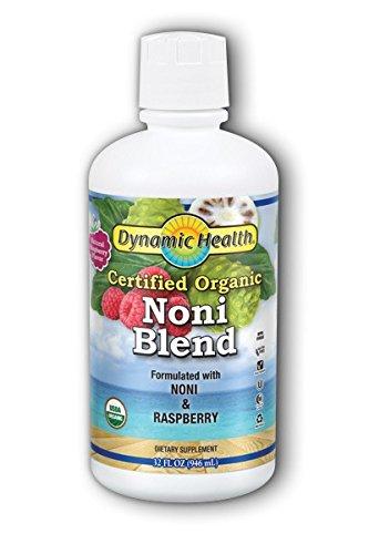 Organic Tahitian Noni Raspberry Flavor Dynamic Health 32 oz ()