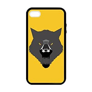 Hot Movie The Wolf of Wall Street Laser TPU Black Cover Case for Apple IPhone 4/4S- Fits for Apple Iphone 4 and Iphone 4S IP4-Laser028