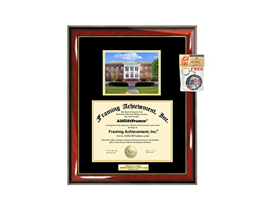 Diploma Frame GSU Georgia Southern University Graduation Gift Idea Engraved Picture Frames Engraving Degree Large Graduate Bachelor Masters MBA PHD Doctorate