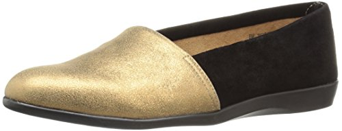 Aerosoles Damen Trend Setter Slip-On Loafer Bronzekombo
