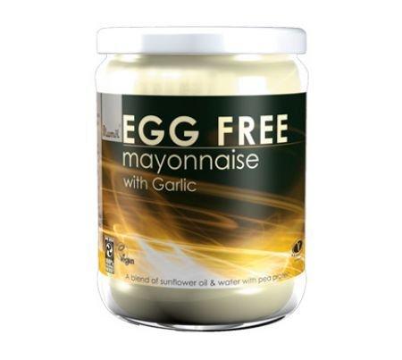 Plamil Egg Free Mayo Garlic 315g by PLAMIL FOODS LTD - No GM Soya