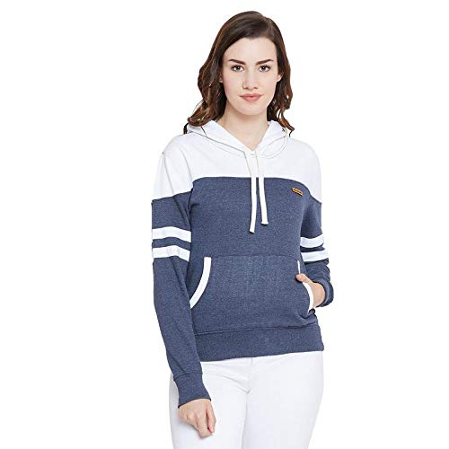 The Dry State Women s Cotton Pullover Hoodies G286- P  Amazon.in  Clothing    Accessories 7949fba179
