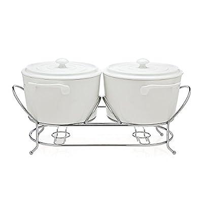 Godinger La Cucina Double Warmer