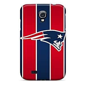 Snap-on Case Designed For Galaxy S4- New England Patriots