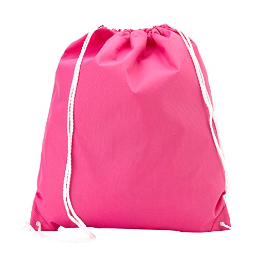 Wholesale Boutique Backpack Style Drawstring Gym Bag, Solid Hot ()