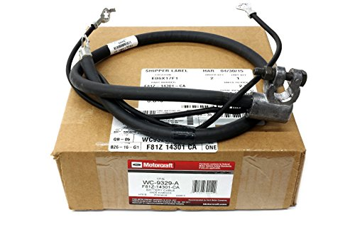 - 1999-2003 Ford F250 F350 F450 F550 7.3L Negative Battery Cable RH Passenger OEM