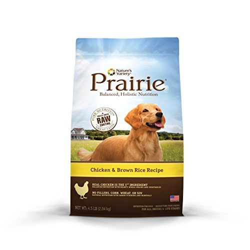 Picture of Nature's Variety Prairie Chicken & Brown Rice Recipe Dry Dog Food, 4.5 lb. Bag by Nature's Variety