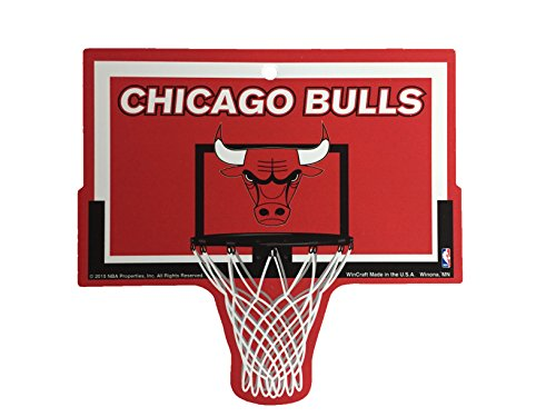 Chicago Bulls NBA Basketball Hoop Street Sign by FGCSports