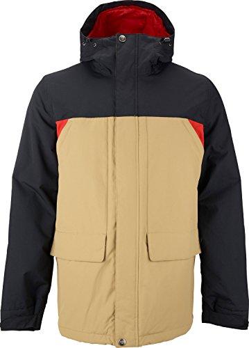 Burton Twc Headliner Insulated Jacket   Mens True Black Cork Fang  M