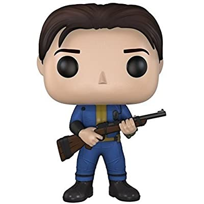 Funko Pop Games: Fallout 4-Vault Dweller Action Figure: Funko Pop! Games:: Toys & Games