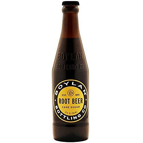 (Boylan Root Beer Soda, 12 fl oz (12 Glass Bottles))