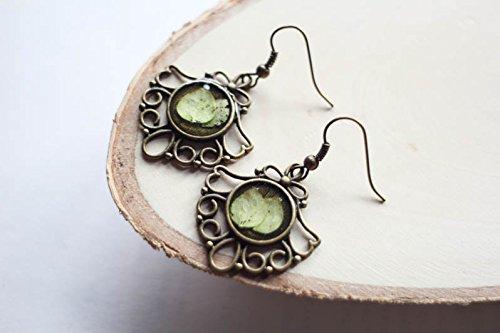 resin plant jewelry - 5