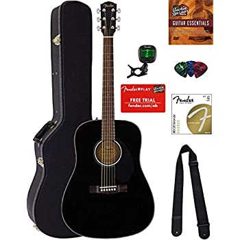Amazon.com: Fender FA-115 Dreadnought Acoustic Guitar ...
